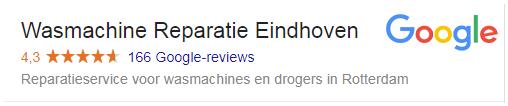 reviews wasmachine reparatie eindhoven